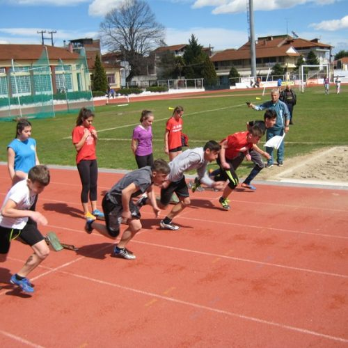 Τα αποτελέσματα των σχολικών  αγώνων στίβου  Γυμνασίων και  Λυκείων Ημαθίας