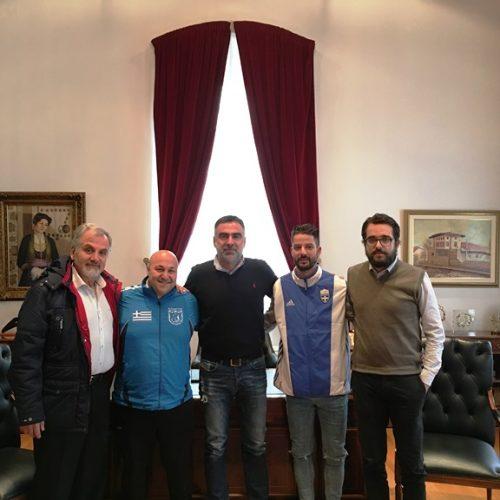 Συνάντηση αντιδημάρχων του Δ. Βέροιας με τον εκπρόσωπο της Ελλάδας στους Χειμερινούς Παραολυμπιακούς Αγώνες
