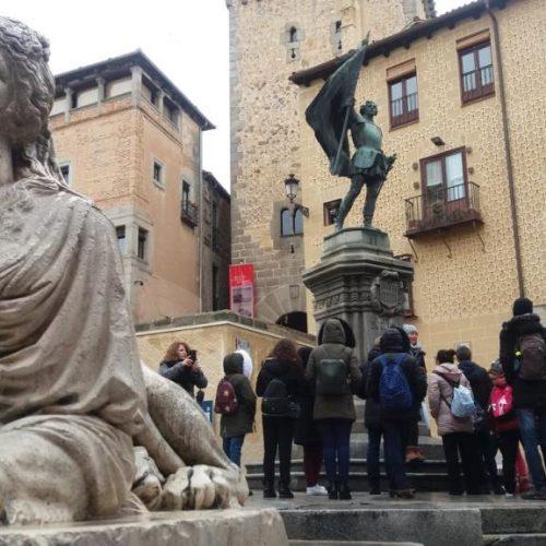 Μαθητές και εκπαιδευτικοί του Δημοτικού Σχολείου Κουλούρας Ημαθίας    στη Μαδρίτη  εκπροσωπώντας την Ελλάδα