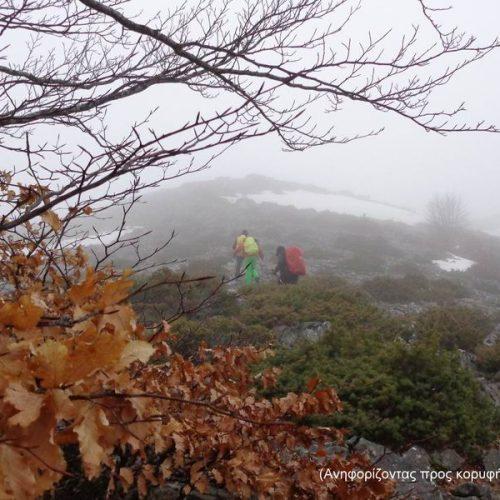 """Στο Βέρμιο με βροχή, δυνατούς ανέμους και ομίχλη ο """"Τοτός"""""""