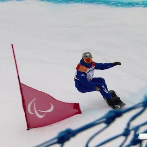 19ος και στο Banked Slalom o Κωνσταντίνος Πετράκης