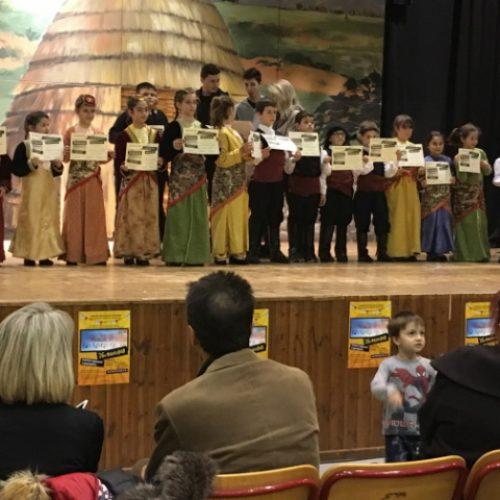Το παιδικό τμήμα ποντιακών χορών της Ευξείνου Λέσχη Βέροιας  στο 26ο Παιδικό Φεστιβάλ Δήμου Νεάπολης - Συκεών Θεσσαλονίκης