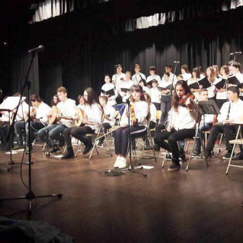Αφιέρωμα στον αγώνα για την ελευθερία και τον Διονύσιο Σολωμό παρουσίασε το Μουσικό Σχολείο Βέροιας