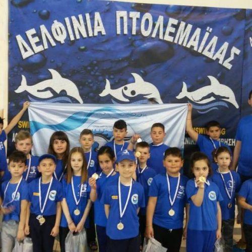 """""""Έκλεψαν"""" τις εντυπώσεις οι μικροί κολυμβητές του ΠΗΓΑΣΟΥ στην Πτολεμαΐδα"""