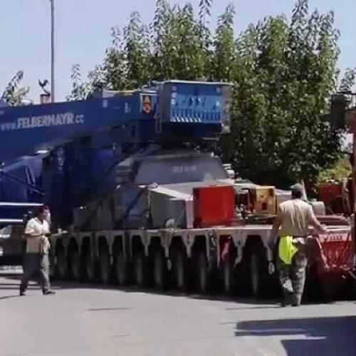 Κυκλοφοριακές ρυθμίσεις στην Πέλλα λόγω μεταφοράς υπέρβαρων και ογκωδών φορτίων