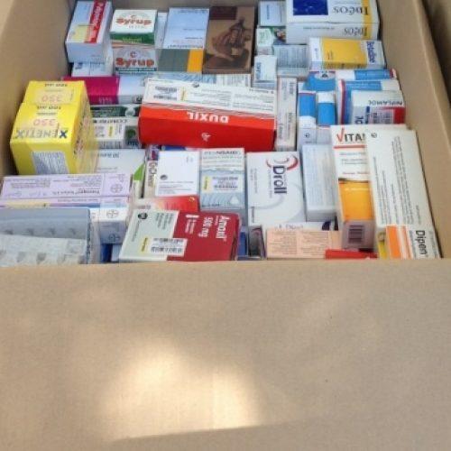 """Συλλογή φαρμάκων στο """"Κοινωνικό Φαρμακείο"""" Βέροιας"""