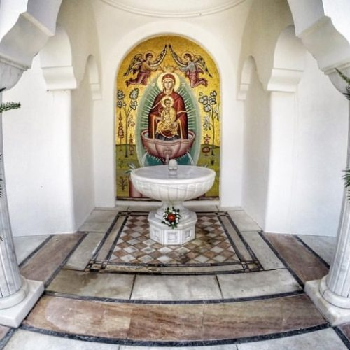 Πανήγυρις Ζωοδόχου Πηγής στη Μονή Παναγίας Δοβρά