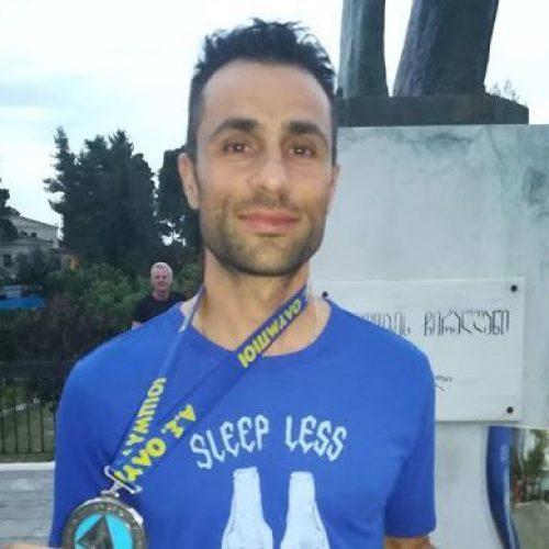 """7ος Διεθνής Αγώνας Δρόμου Δόλιχος -  2ος  ο Ηλίας Καραϊωσήφ του """"Εν Σώματι Υγιεί""""!"""