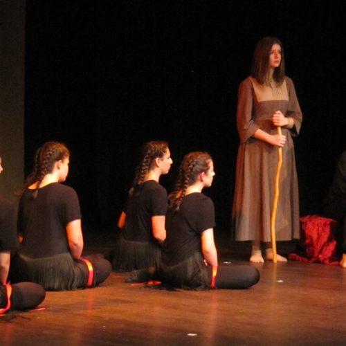 """Η """"Εκάβη"""" του Ευριπίδη από τη Θεατρική Ομάδα του 4ου ΓΕΛ και το 2ου Γυμνασίου Βέροιας. Μια φιλόδοξη προσέγγιση"""