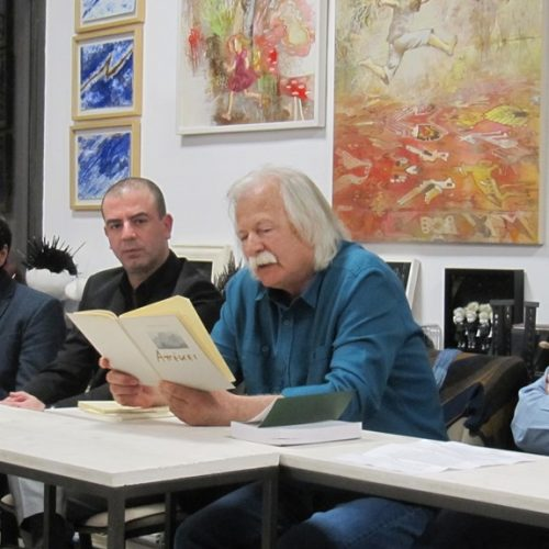 """Ο Βασίλης Νιτσιάκος στη Βέροια -  """"Περνώντας από τον εθνογραφικό στοχασμό στο όνειρο και την ποίηση"""""""