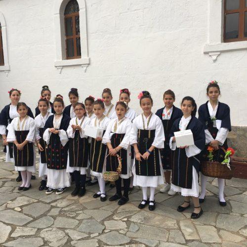 Το έθιμο των Λαζαρίνων αναβίωσε και φέτος ο Πολιτιστικός Σύλλογος Βεργίνας