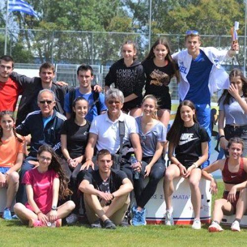 Επιτυχίες της Ημαθίας στους Πανελλήνιους Αγώνες Στίβου  ΓΕΛ και ΕΠΑΛ Ελλάδας – Κύπρου 2017-18