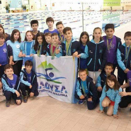 """Η Κ.Α. """"Νάουσα"""" στους διεθνείς αγώνες Καβάλα Junior  –   Κατέκτησαν 16 μετάλλια,   πέτυχαν 32 νέα ατομικά ρεκόρ και 3 ρεκόρ ομάδας!"""