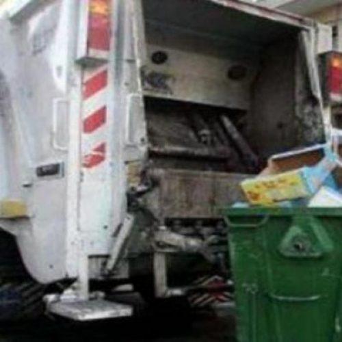Η αποκομιδή απορριμμάτων την  Πρωτομαγιά στο Δήμο Βέροιας