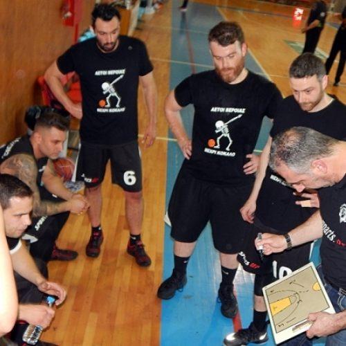 Μπάσκετ: Στη Γουμένισσα για το δεύτερο παιχνίδι των play off οι Αετοί Βέροιας