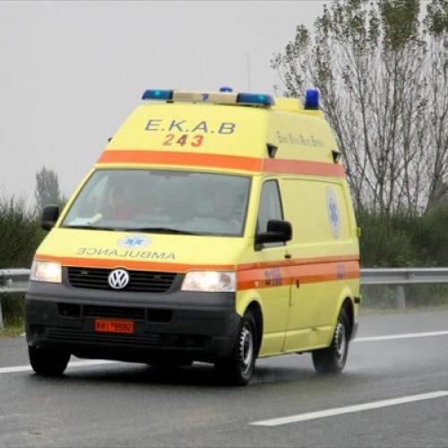 Θανάσιμος τραυματισμός   41χρονου  πεζού σε τροχαίο ατύχημα