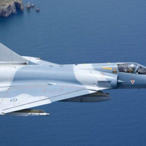 Νεκρός ο Έλληνας πιλότος του Mirage που κατέπεσε ανοιχτά της Σκύρου