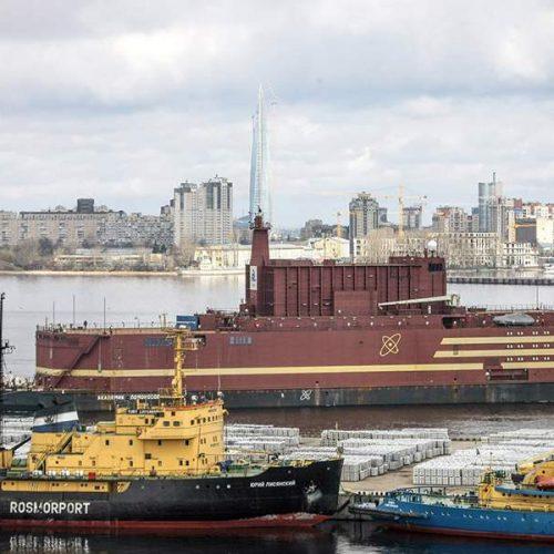 Ο πρώτος πλωτός πυρηνικός σταθμός στην Αρκτική  από τη  Ρωσία