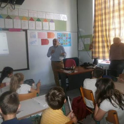 Συνάντηση της ΔΕΥΑΒ με  μαθητές και  δασκάλους του 3ου Δημοτικού Σχολείου  Βέροιας