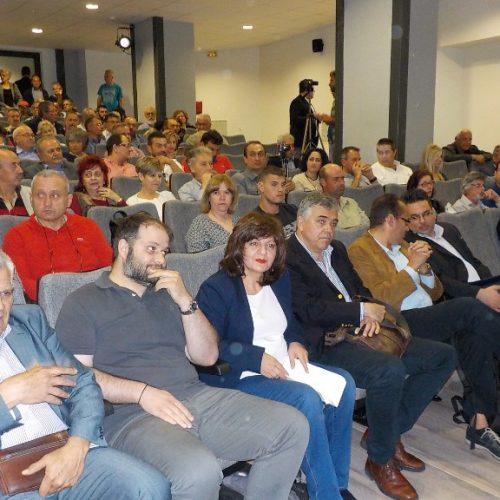 """Πραγματοποιήθηκε εκδήλωση στη Νάουσα: """"Φαρμακευτική και βιομηχανική κάνναβη στην απασχόληση και στην ανάπτυξη"""""""