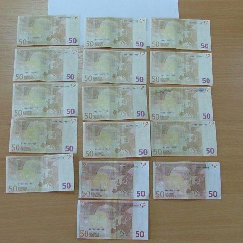 Συνελήφθησαν 3 άτομα   για πλαστά χαρτονομίσματα