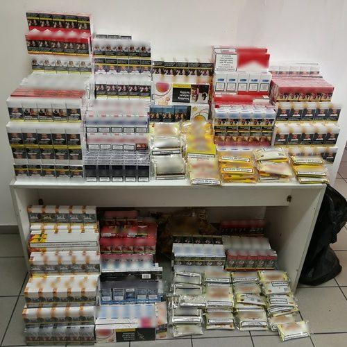 Συνελήφθησαν 6 άτομα για λαθρεμπόριο καπνικών προϊόντων