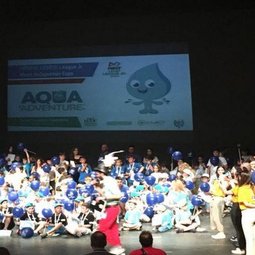 Το 1ο Δημοτικό Σχολείο Βέροιας   στη μεγαλύτερη πανελλήνια γιορτή Εκπαιδευτικής Ρομποτικής