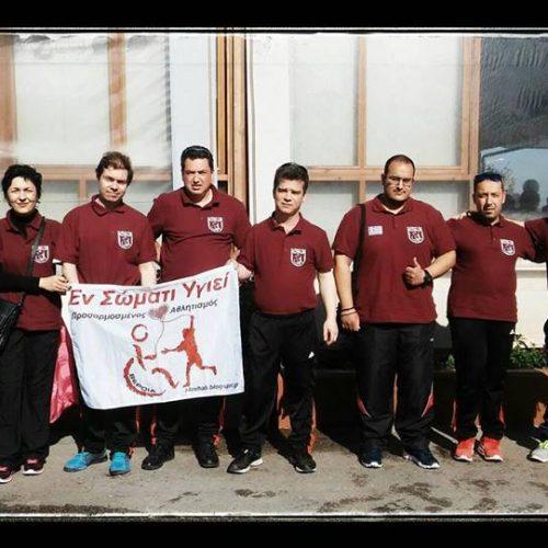 """To """"Εν Σώματι Υγιεί"""" στο Πανελλήνιο Πρωτάθλημα Επιτραπέζιας Αντισφαίρισης ΑμεΑ 2018"""