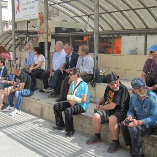 Στην Πλατεία Δημαρχείου της Βέροιας η συγκέντρωση του Ν. Τ. της ΑΔΕΔΥ και άλλων οργανώσεων για την Πρωτομαγιά