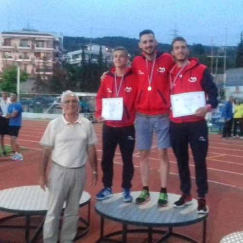 Εντυπωσίασαν οι αθλητές και αθλήτριες του Φιλίππου την δεύτερη μέρα στο διασ/κό πρωτάθλημα στίβου
