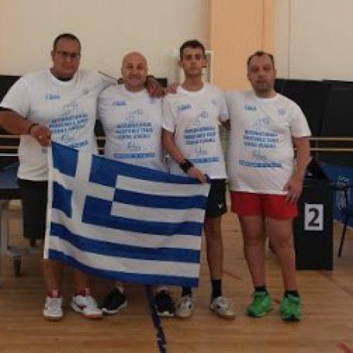 Με 1 χρυσό και 2 χάλκινα μετάλλια επέστρεψε η ελληνική αποστολή ΑμεΑ από τη Βάρνα