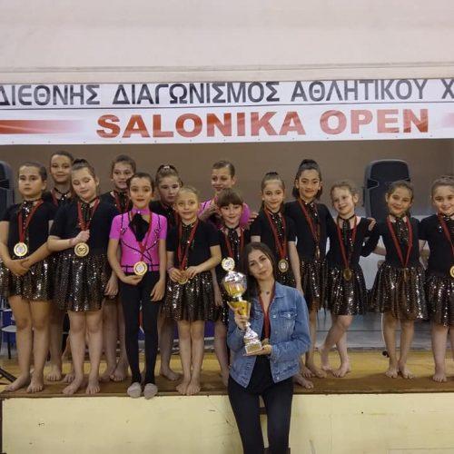 Σάρωσαν τα μετάλλια σε διεθνείς αγώνες χορού  τα κορίτσια του Φιλίππου