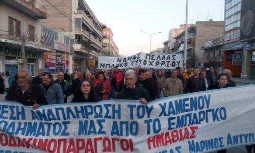 """Αγροτικός Σύλλογος Νάουσας """"Μαρίνος Αντύπας"""": Όλοι στην απεργιακή συγκέντρωση των ταξικών σωματείων"""