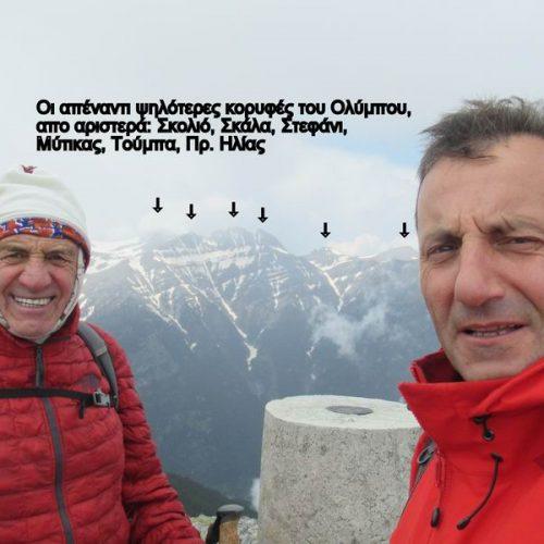 """Όλυμπος - Λιβαδάκι με στόχο την κορυφή Πάγος στα μέσα  Μαΐου, η Ορειβατική Ομάδα Βέροιας """"Τοτός"""""""
