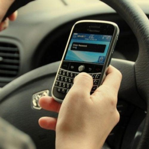 """""""Η Παράβαση της εβδομάδας"""" - Χρήση κινητού τηλεφώνου και  μη χρήση ζώνης ασφαλείας κατά την οδήγηση"""