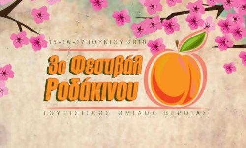 3o Φεστιβάλ Ροδάκινου Βέροιας - Το πρόγραμμα