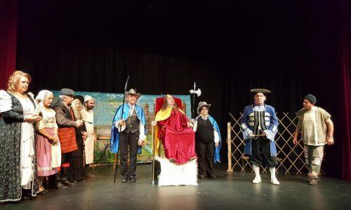 """Θεατρική  παράσταση  στο Γιαννακοχώρι.  """"Ο Μαλέας και ο Βασιλέας"""""""