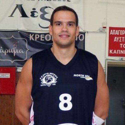 Μπάσκετ: Ανανέωσε με τους Αετούς Βέροιας   ο Κωστής Γκεκόπουλος