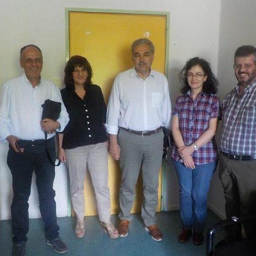Επίσκεψη των βουλευτών Φρ. Καρασαρλίδου και Χρ. Αντωνίου στο Κέντρο Υγείας Αλεξάνδρειας