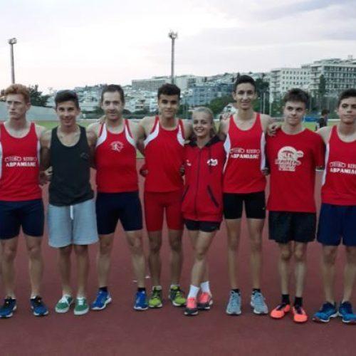 """Στα """"Ζαχαριάδεια"""" συμμετείχαν οι αθλητές του στίβου της Βέροιας"""