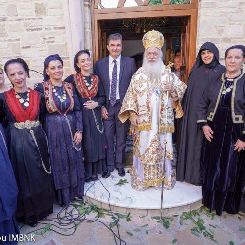 Σύλλογος Βλάχων Βέροιας: Στο Μοναστήρι των Αγίων Πάντων τιμήθηκαν οι επτά Βλάχες Hρωίδες