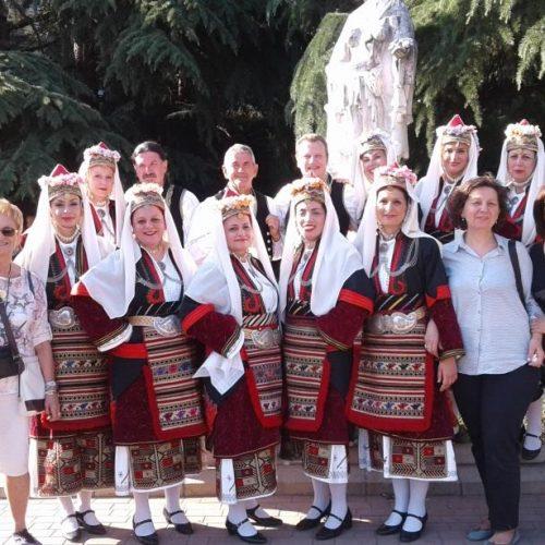 Το Λύκειο  Ελληνίδων Βέροιας στο Καζανλούκ