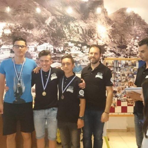 Αποτελέσματα αγώνων Σκάκι στην Εύξεινο Λέσχη   Νάουσας