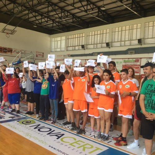 Aγώνες ΑθλοΠΑΙΔΕΙΑΣ Καλαθοσφαίρισης Σχολικών Μονάδων Ειδικής Αγωγής και Εκπαίδευσης Ημαθίας