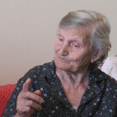 Δέσπω Ουζουνίδου. Η 90χρονη μαχήτρια του Δημοκρατικού Στρατού θυμάται…
