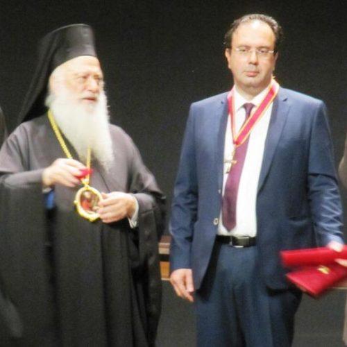Η Μητρόπολη τίμησε το Δήμο Βέροιας για τα 100 χρόνια ζωής του