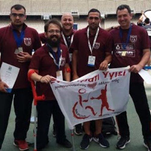 """7 Μετάλλια και 1 Πανελλήνιο Ρεκόρ το """"Εν Σώματι Υγιεί"""" στο Πανελλήνιο Πρωτάθλημα Στίβου ΑμεΑ 2018!"""