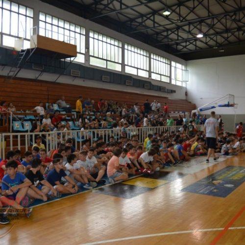 Η πρώτη συγκέντρωση του 4ου Veria Basketball Camp