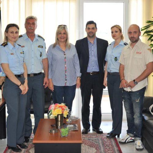 Επίσκεψη της ΕΑΥΝΗ στη Σχολή Μετεκπαίδευσης Βορείου Ελλάδος στη Βέροια