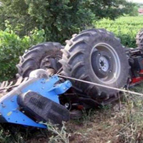 Θανάσιμος τραυματισμός 59χρονου αγρότη από ανατροπή τρακτέρ